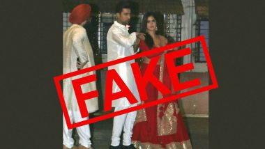 Katrina Kaif-Vicky Kaushal's 2019 Diwali Bash Pics Shared as Their Roka Pictures Amidst Rumours of Their Engagement (Fact Check)