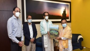 India News | Sikkim CM Tamang Pays Courtesy Visit to Maharashtra CM