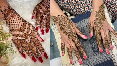 Raksha Bandhan 2021 5-Minute Quick Mehndi Designs: Easy Indian Henna Patterns, Arabic, Rajasthani, Floral & Trail Mehandi Designs To Celebrate Rakhi