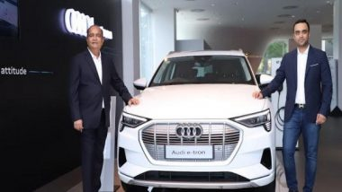 Business News | Audi Ahmedabad Launches 3 Electric SUVs - Audi E-tron 50, Audi E-tron 55 and Audi E-tron Sportback 55