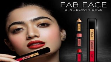 Business News | One Makeup Stick for Eyes, Cheeks and Lips - RENEE Launches Revolutionary FAB FACE with Rashmika Mandanna and Shruti Haasan
