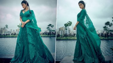 Mouni Roy Looks Ethereal In Gorgeous Emerald Green Lehenga, Says 'Magic Exists' (View Pics)