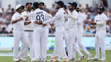 IND 112/4 in 43.2 Overs | India vs England 1st Test 2021 Day 2 Live Score Updates: Ajinkya Rahane Run Out As Team India Trail by 71 Runs