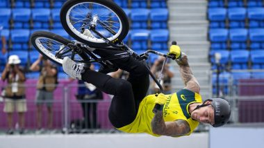 Logan Martin Wins Gold Medal in Cycling Freestyle BMX at the Tokyo Olympics 2020