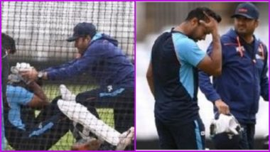 Mayank Agarwal Hit on Head, Ruled Out of IND vs ENG 1st Test 2021 Due to Concussion