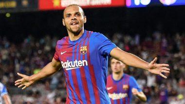 Martin Braithwaite's Brace Leads Barcelona to 4-2 Win Over Real Sociedad in La Liga 2021-22