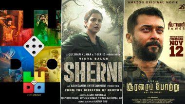 IFFM 2021: Rajkummar Rao's Ludo, Vidya Balan's Sherni, Suriya's Soorarai Pottru Bag Top Nominations at Indian Film Festival of Melbourne