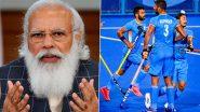 PM Narendra Modi Congratulates India Men's Hockey Team For Tokyo Olympics 2020 Bronze Over Phone Call (Watch Video)