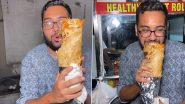 Biggest Chicken Roll Ever? This Two-Foot-Long Chicken Egg Roll Made With 10 Eggs Will Make You Feel Full Already (Watch Viral Video)