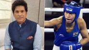 Lovlina Borgohain Congratulated by Sachin Tendulkar After Winning Bronze in Women's Welterweight Boxing Event at Tokyo Olympics 2020 (Check Post)