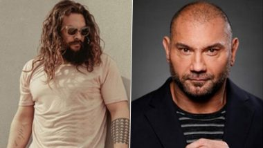 Jason Momoa, Dave Bautista Are Planning a Buddy Cop Movie, Aquaman Actor Says, 'So It's Off to the Races Now and We're Doing It'