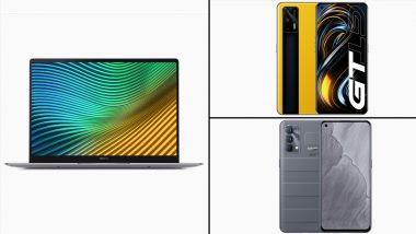 Realme GT 5G, Realme GT Master Edition & Realme Book Slim Launched in India; Check Prices & Other Details Here