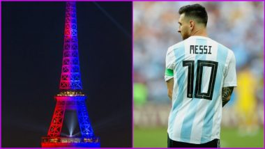 Lionel Messi Unveiling at Eiffel Tower As PSG All Set to Sign Former Barcelona Star
