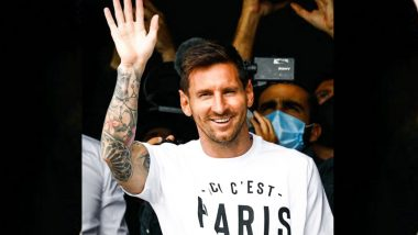 Lionel Messi Press Conference Live Streaming: Check Date, Timings & Live Streaming & Online Telecast Details for the Presser Hosted by PSG