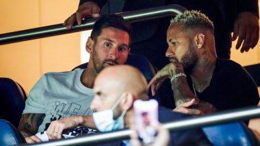 Lionel Messi, Neymar Jr Not Included In PSG Squad For Ligue 1 2021-22 Encounter Against Brest