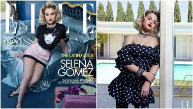 Selena Gomez Poses for Elle's New Issue and Her Pictures Are Glamorous AF
