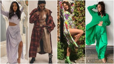 Shibani Dandekar Birthday: Atypical and Fascinating, Just Some of The Many Words That Define her Fashion Outings (View Pics)