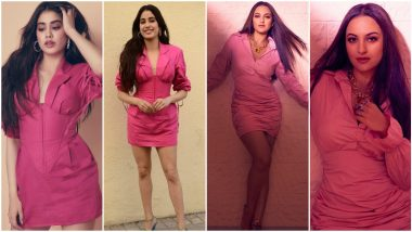 Fashion Faceoff: Janhvi Kapoor or Sonakshi Sinha, Who Nailed This Pink Outfit Better? Vote Now