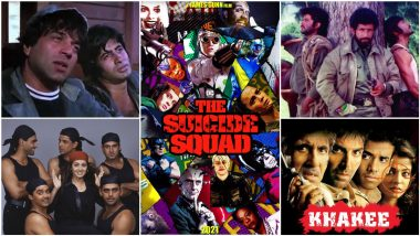 The Suicide Squad's Desi Avatars: From Shah Rukh Khan's Army to Akshay Kumar's Khakee, 5 Times Bollywood Had Its Own Death Squads (LatestLY Exclusive)