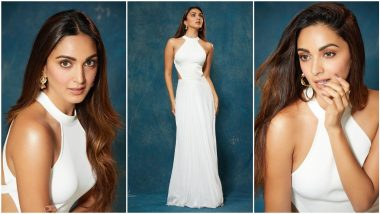 Kiara Advani is a Vision in White In her Elegant Ralph Lauren Gown (View Pics)