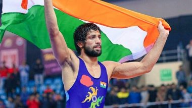Ravi Kumar Dahiya at Tokyo Olympics 2020, Wrestling Live Streaming Online: Know TV Channel & Telecast Details for Men's 57kg Gold Medal Match Coverage