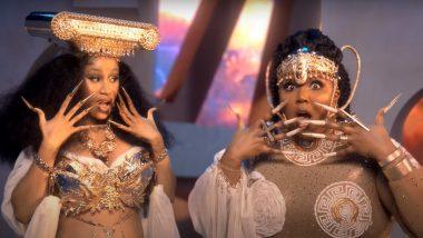 Lizzo, Cardi B Transform Into Greek Goddesses for Rumors Music Video - WATCH