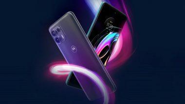 Motorola Edge 20 Fusion To Go on Sale Tomorrow; Prices, Features & Other Details