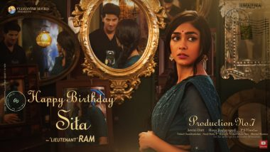 Mrunal Thakur's First Look as Sita in Dulquer Salmaan's Next Revealed on Actress' Birthday