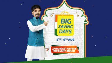 Flipkart Big Saving Days Sale To Begin at Midnight; Check Best Deals on Smartphones, TVs & Appliances