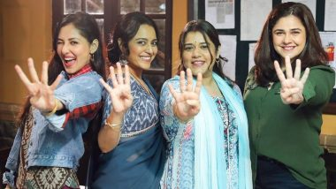 Jahaan Chaar Yaar: Swara Bhasker, Shikha Talsania Resume Shooting for the Film, Shares Picture From the Sets