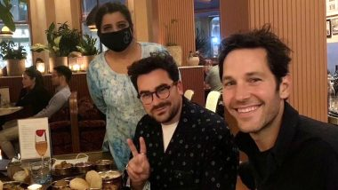 Paul Rudd And Dan Levy Dine At An Indian Restaurant And Make Twitterati Obsess Over The Antman Actor's Age-Defying Looks