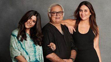 Kareena Kapoor Khan Is All Set to Debut as a Producer, Bebo Teams Up With Ekta Kapoor For Hansal Mehta's Thriller Film