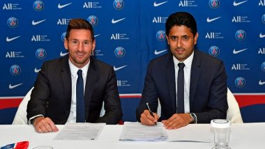 Lionel Messi Joins PSG: Club President Nasser Al Khelaifi Says They Always Follow Financial Fair Play Rules After Argentine Joins French Side