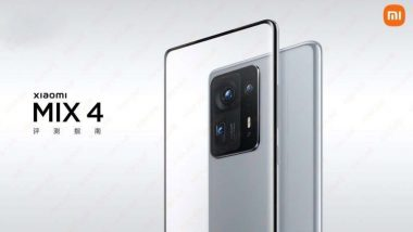 Mi Mix 4 To Be Launched Tomorrow, Specifications Tipped Online: Report
