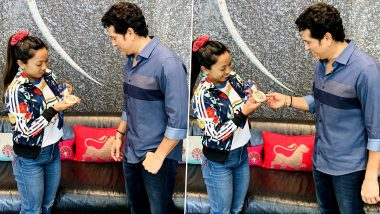 Sachin Tendulkar Shares Pictures With Mirabai Chanu, Says 'She Can Lift Spirits As Easily as She Lifts Weights!'