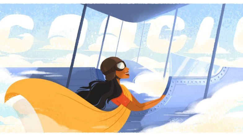 Sarla Thukral, First Indian Woman to Pilot an Aircraft Gets a Tribute With Google Doodle on Her 107th - LatestLY