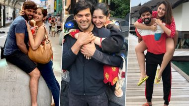 Sayyeshaa Birthday Special: 5 Pictures of the Beautiful Actress With Her Hubby Arya That Prove They Are Made for Each Other