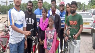 India News   Hyderabad-based Organisation Collects Pre-used Cycles, Repairs and Donates Them to the Needy