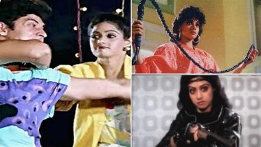 Sridevi Birth Anniversary: Five Action Sequences Of The Late Actress That Deserve A Standing Ovation (Watch Videos)