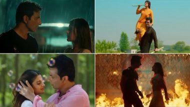 Saath Kya Nibhaoge Teaser: Sonu Sood, Nidhhi Agerwal's Old School Romance Blossoms With the True Essence of Punjab (Watch Video)