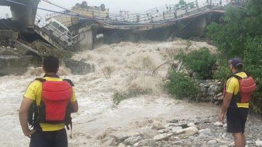 Uttarakhand Rains: Roads Connecting Rishikesh, Devprayag, Dehradun Blocked Due to Landslides Following Heavy Rainfall, Connectivity Hit
