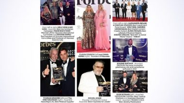 The I Success Awards Gala Shined on the Red Carpet at Cannes