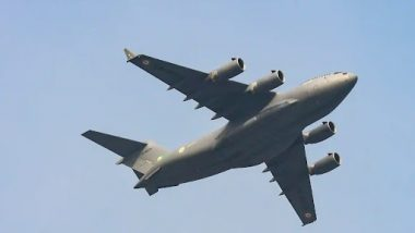 IAF Flight with 168 Passengers onboard, Including 107 Indians, Enroute to Delhi from Kabul