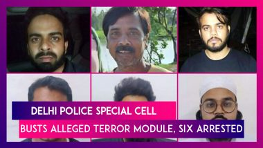 Delhi Police Special Cell Busts Alleged Terror Module, Six Arrested