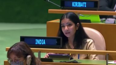 Sneha Dubey, First Secretary, Indian Mission in UN Slams Pakistani PM Imran Khan's UNGA Speech; Watch Video