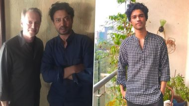 Babil Khan Is Pressurised As He Shares Pictures of Irrfan Khan Posing With Some of the Biggest Hollywood Stars