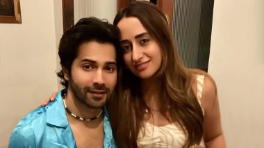 Varun Dhawan Shares a Loved-Up Picture With Natasha Dalal and It's Endearing!