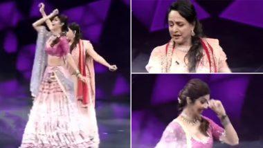 Hema Malini, Shilpa Shetty Groove to 'Jatt Yamla Pagla Deewana' in Dharmendra Style