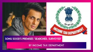 Sonu Sood's Mumbai Office, Home 'Searched, Surveyed' By Income Tax Department