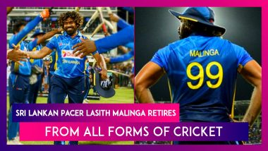 Sri Lankan Pacer Lasith Malinga Retires From All Forms of Cricket